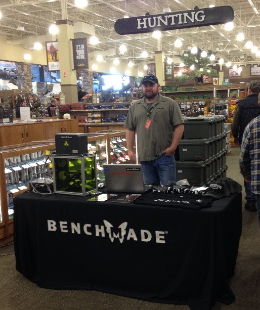 Benchmade Knives Booth